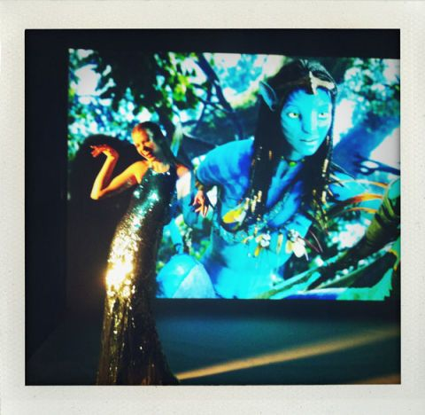 Display device, Modern art, Fictional character, Flat panel display, Painting, Led-backlit lcd display, Animation,