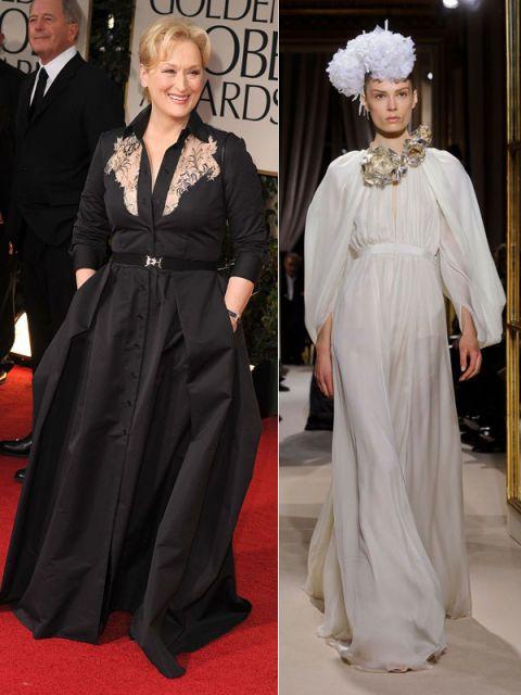 Meryl Streep in Giambattista Valli