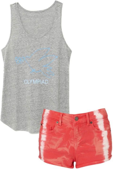 Product, Textile, White, Red, Sleeveless shirt, Denim, Pocket, Pattern, Fashion, Grey,