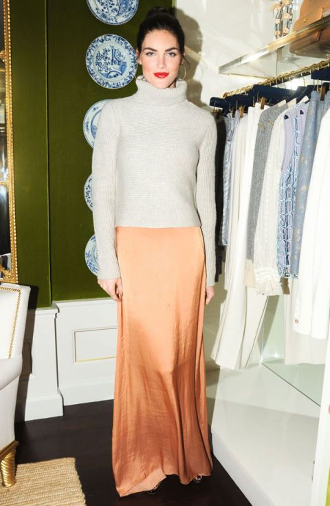 Hilary Rhoda at the New Yorkers for Children Benefit