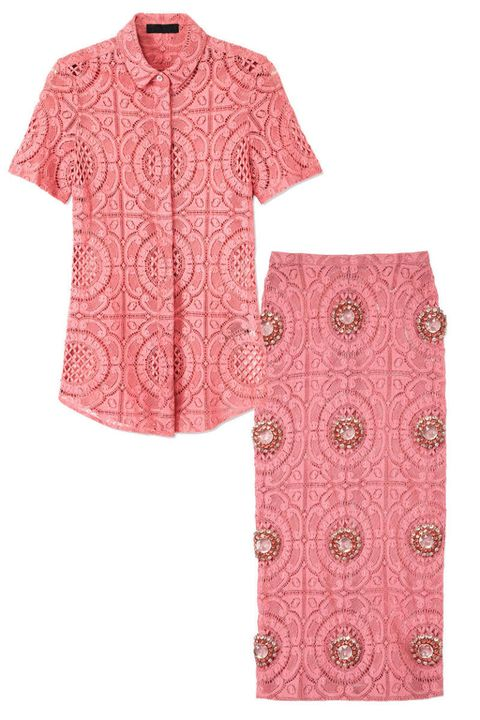 Product, Sleeve, Pattern, Collar, Textile, Pink, Magenta, Baby & toddler clothing, Maroon, Peach,