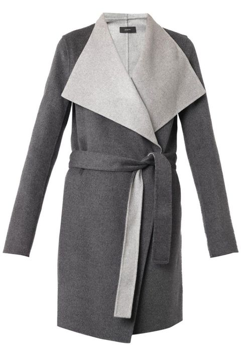 Sleeve, Collar, Textile, Outerwear, Coat, Fashion, Grey, Blazer, Clothes hanger, Fashion design,