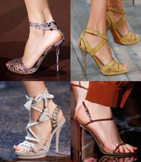 Footwear, Brown, High heels, Shoe, Human leg, Sandal, Toe, Joint, Style, Beauty,