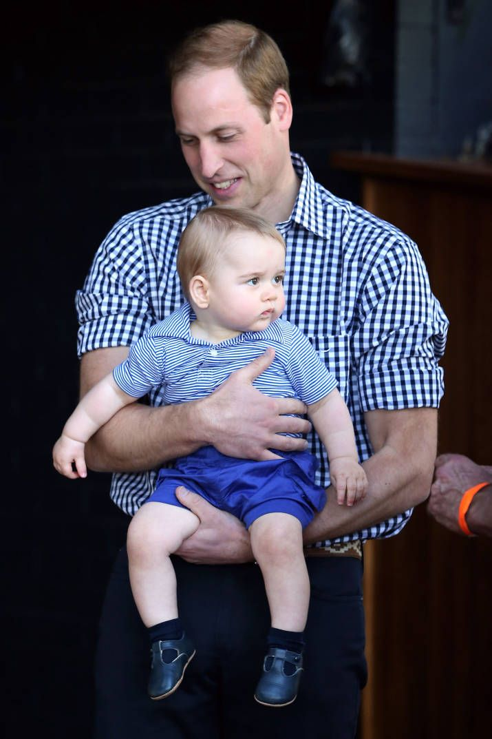 5 Times Prince George Looked Just Like Dad