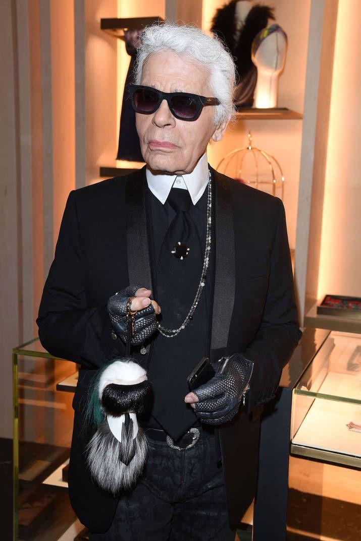 Karl Lagerfeld Hates Your Selfies