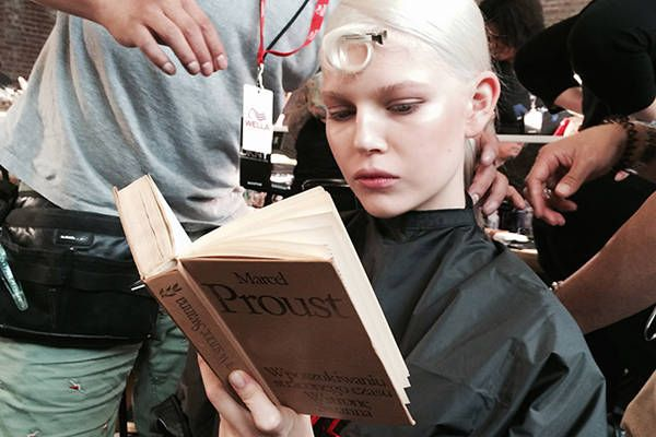What All the Top Models Are Reading Right Now