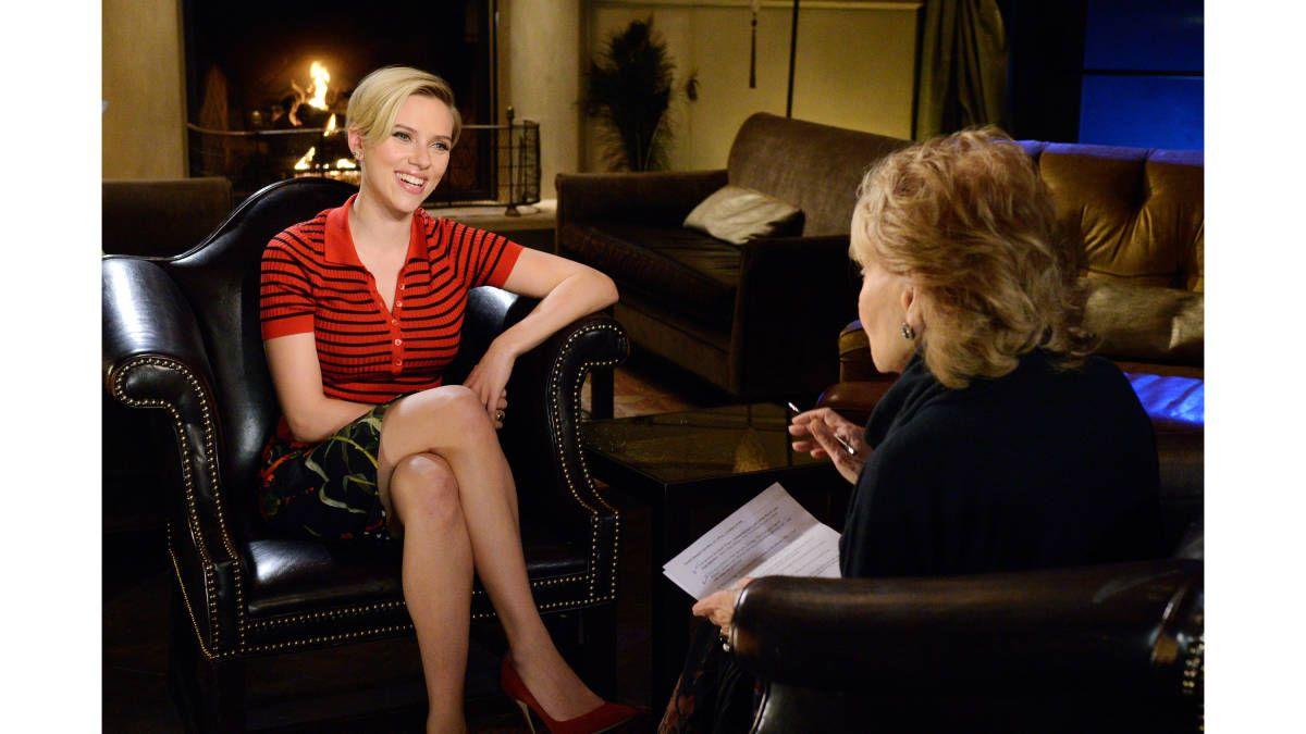 Scarlett Johansson Opens Up to Barbara Walters