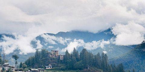 Mountainous landforms, Cloud, Highland, Mountain, Mountain range, Hill station, Cumulus, Rural area, Hill, Valley,