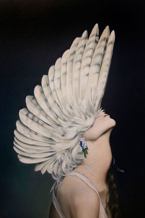 Finger, Feather, Wing, Body jewelry, Jewellery, Natural material, Silver, Nail, Pollinator, Mythical creature,