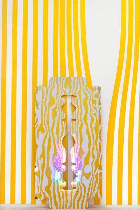 Yellow, Orange, Amber, Pattern, Modern art, Graphic design,