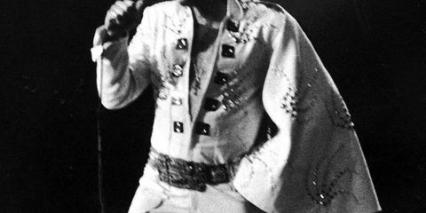 Audio equipment, Microphone, Music, Music artist, Elvis impersonator, Musician, Artist, Pop music, Singer, Singing,