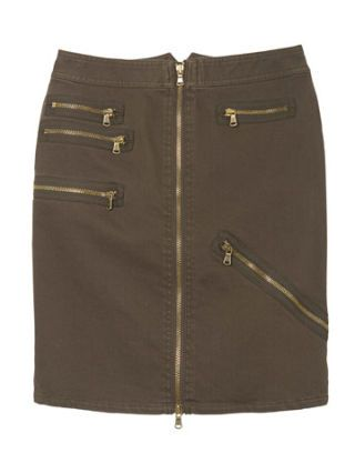 marc by marc jacobs skirt with zippers
