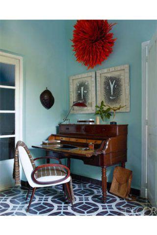 Room, Interior design, Furniture, Floor, Wall, Flooring, Interior design, Hardwood, Drawer, Teal,