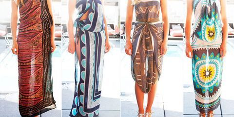 4 Innovative Ways to Tie a Chic Summer Sarong