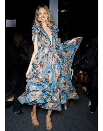 stella mccartney print dress