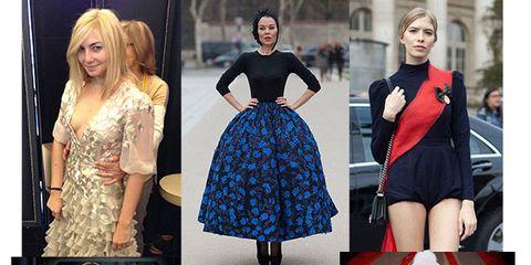 Clothing, Blue, Dress, Sleeve, Pattern, Textile, Formal wear, Style, Electric blue, Cobalt blue,