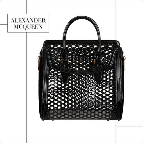 Product, Bag, Rectangle, Iron, Parallel, Home accessories, Luggage and bags, Storage basket, Black-and-white, Baggage,