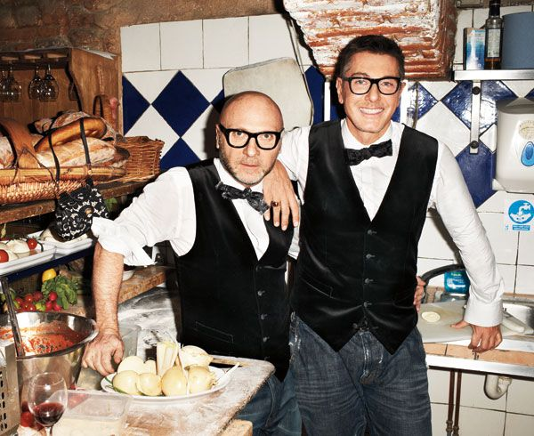 Dinner with Dolce & Gabbana - A Dinner Party With Dolce