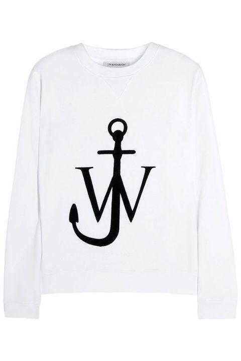 Sleeve, Text, White, Font, Symbol, Grey, Active shirt, Signage, Sign, Sweatshirt,