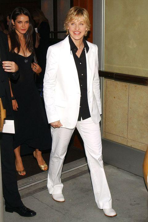 Clothing, Leg, Trousers, Coat, Outerwear, Formal wear, Style, Blazer, Dress, Fashion,
