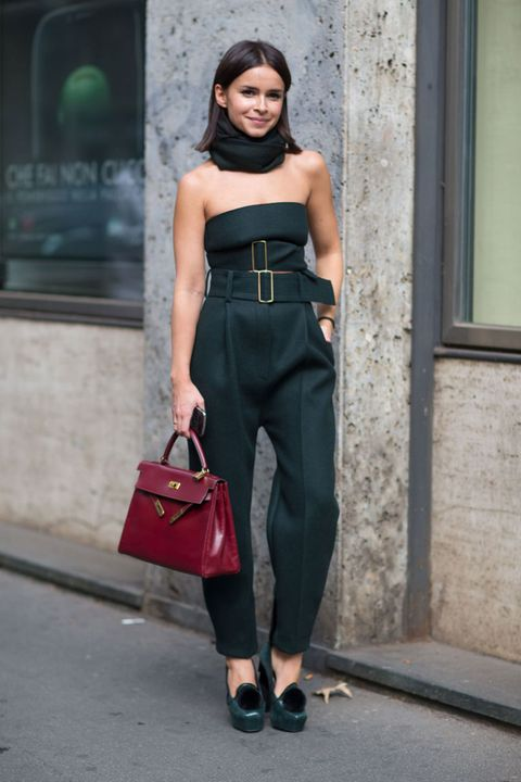 Clothing, Shoulder, Joint, Bag, Waist, Style, Dress, Strapless dress, Fashion accessory, Street fashion,