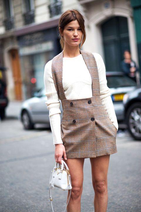 Clothing, Outerwear, Human leg, Street fashion, Style, Fashion accessory, Street, Auto part, Bag, Fashion,