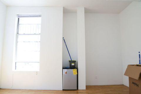 Wood, Floor, Flooring, Wall, Shipping box, Room, Fixture, Ceiling, Hardwood, Box,