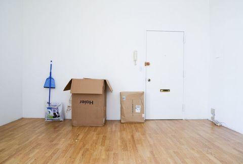 Wood, Floor, Flooring, Hardwood, Wood flooring, Laminate flooring, Shipping box, Door, Wood stain, Plywood,