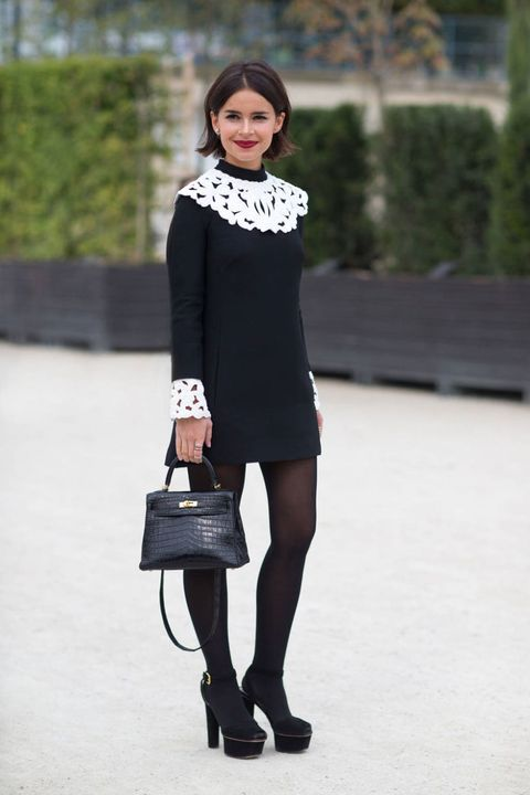Clothing, Sleeve, Shoulder, Joint, Outerwear, Dress, Style, Street fashion, Bag, Knee,