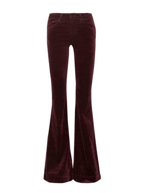 Clothing, Brown, Textile, Denim, Standing, Red, Waist, Magenta, Purple, Violet,