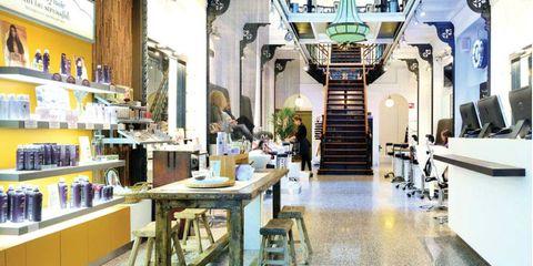 Lighting, Stairs, Interior design, Ceiling, Interior design, Light fixture, Door, Houseplant, Shelf, Stool,