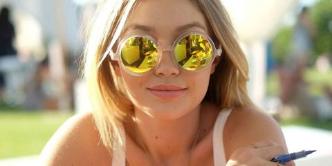Eyewear, Glasses, Vision care, Fun, Skin, Goggles, Personal protective equipment, Sunglasses, Summer, Facial expression,