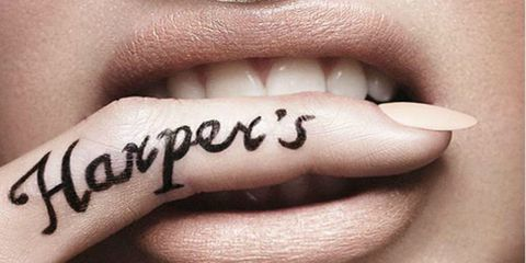 Finger, Lip, Skin, Organ, Font, Tooth, Photography, Handwriting, Close-up, Tattoo,