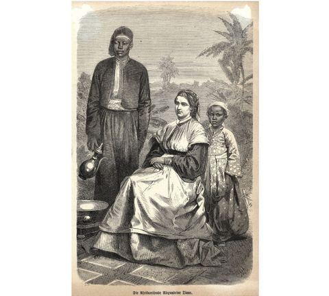 <p>1835 – 1869</p><p>Als telg van een welgestelde Haagse familie had Alexandrine Tinne weinig gebreken. Maar ze had een broertje dood aan alle rijkaards om haar heen. Ze wilde weg, en zo geschiedde. Op een goede dag toog ze samen met haar reislustige moeder naar Scandinavië, gevolgd door Egypte, Turkije, Syrië, Palestina en Afrika. Onderweg maakte Tinne zich het fotograferen eigen, wat van haar 's lands eerste wereldreizigster en eerste fotografe maakte.</p>