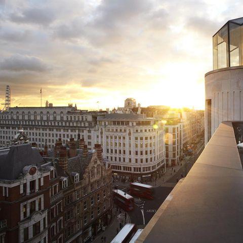 Window, City, Urban area, Neighbourhood, Facade, Building, Dusk, Evening, Apartment, Sunset,