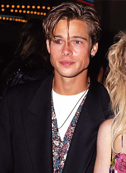 <p>De jaren 90-lok: Brad had hem.</p>