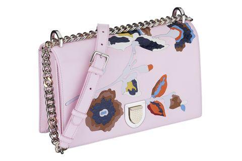 Lavender, Violet, Metal, Chain, Silver, Shoulder bag,