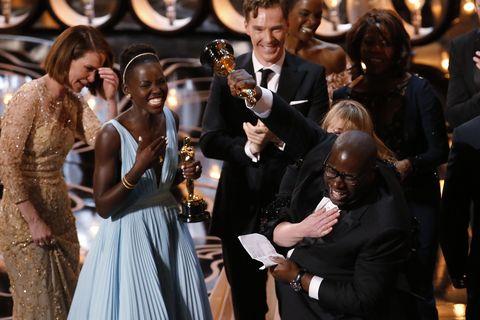<p><strong>3 miljoen dollar</strong> (2.7 miljoen euro) verdient een Oscarwinnende film gemiddeld meer nadat het beeldje is gewonnen.</p>
