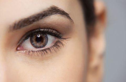 Brown, Skin, Eyelash, Eyebrow, Iris, Amber, Eye shadow, Organ, Beauty, Photography,