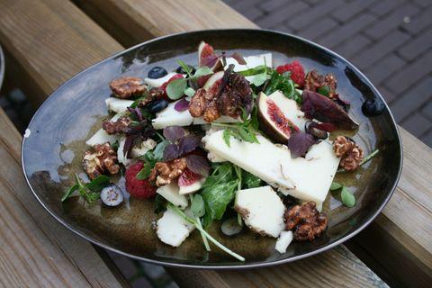 Food, Cuisine, Dishware, Tableware, Dish, Salad, Serveware, Leaf vegetable, Ingredient, Recipe,