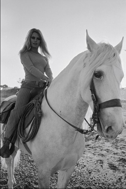 <p>On the set of <em>Shalako</em>, in Spain in 1968.</p>