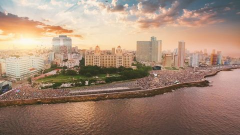 """<p><strong></strong><strong>WHEN: </strong>May 5-8, 2016 </p><p><strong>WHERE: </strong>Havana, Cuba </p><p><strong>WHY:</strong> With political relations and travel restrictions between the US and Cuba relaxing for the first time in decades, now is the perfect time to discover the magic and culture of Havana. And what better way to do so than by soaking up the local soundscape and Caribbean-inspired music scene at the Musicabana festival? </p><p><em>For additional information and tickets visit</em> <a href=""""http://musicabana.com/"""" target=""""_blank""""><em>musicabana.com</em></a>.</p>"""