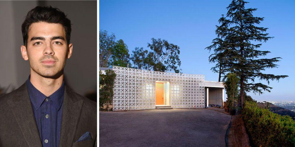 <p>Na zijn break-up met Gigi Hadid verhuisde de leadzanger van DNCE naar dit moderne pand in de heuvels van Hollywood. Wat hij ervoor betaalt? <strong>$40,000</strong> (€35,000) per maand.</p>