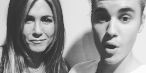 Jennifer Aniston Justin Bieber