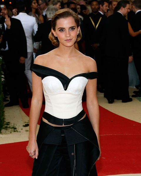 Emma Watsons MET gala jurk was gemaakt van afval