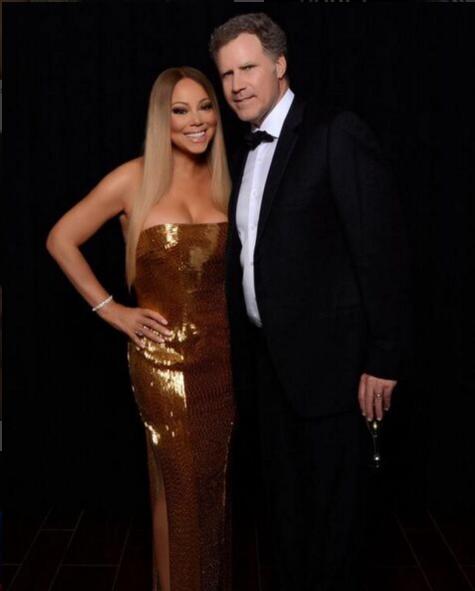 Mariah Carey en Will Ferrell