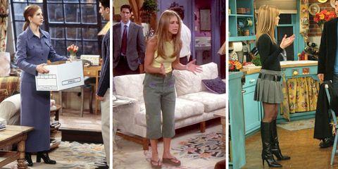 d6a2f7493c8339 Moet je zien  de 30 beste modemomenten van Rachel Green in Friends