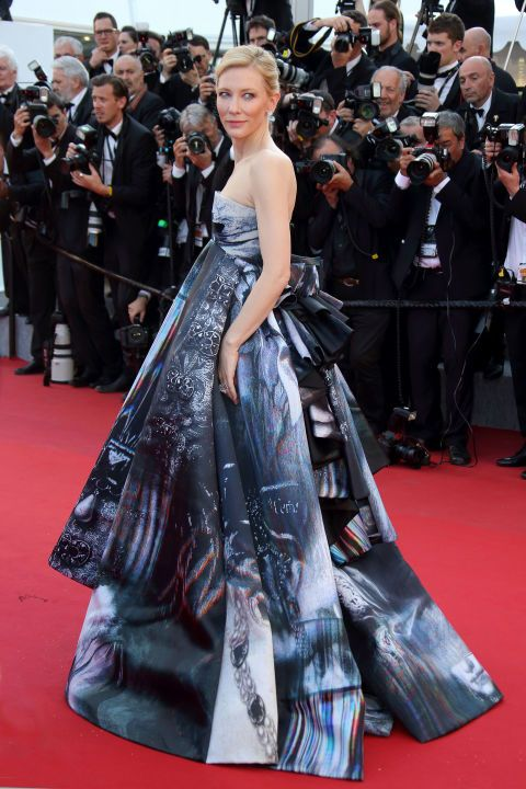 <p><strong>Wie </strong>Cate Blanchett</p><p><strong>Wanneer </strong>première <em>Carol</em>, 2015</p><p><strong>Jurk </strong>Giles</p>