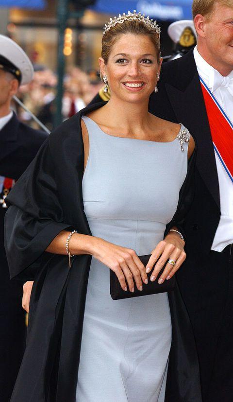 <p>De bruiloft van kroonprins Haakon en Mette-Marit, in Noorwegen.</p>