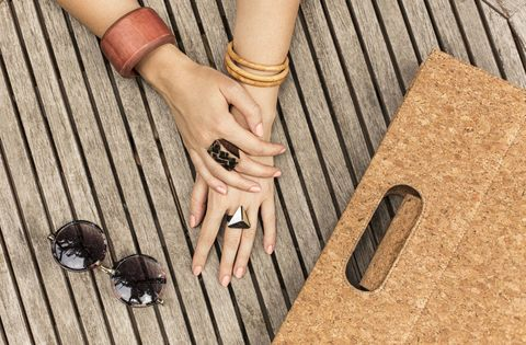 Finger, Nail, Hand, Material property, Ring, Wood, Fashion accessory, Jewellery, Wrist, Beige,